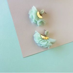 Mint Statement Earrings